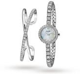 Accurist Ladies' Bangle Gift Set Watch