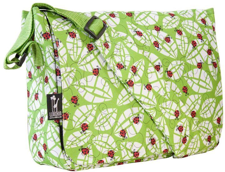 Wildkin ladybug kickstart messenger bag - kids