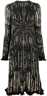 Etro Paisley Print Pleated Dress