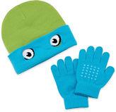 Asstd National Brand Teenage Mutant Ninja Turtles Leo Reversible Beanie & Glove Set - Boys