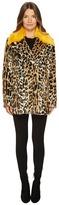 Paul Smith Leopard Peacoat Women's Coat