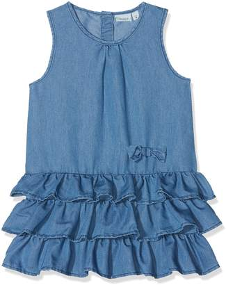 Name It Baby Girls' Nmfbabra DNM 2027 Dress