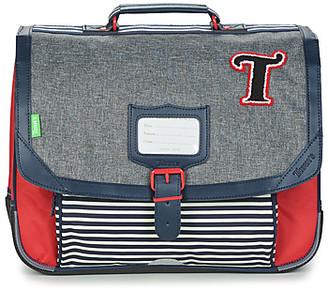Tann's TEDDY CARTABLE 38CM boys's Briefcase in Grey