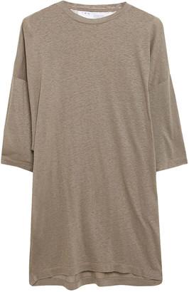 IRO Metallic Slub-jersey Top