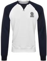 Franklin & Marshall Franklin Marshall Logo Sweatshirt Navy