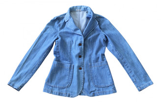 Miu Miu Blue Denim - Jeans Jackets