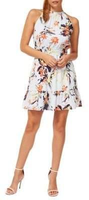 Dex Fit--Flare Halter Dress