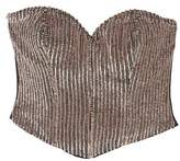Mango Outlet Sequined bustier