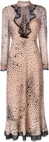 RED Valentino star print flared dress
