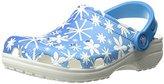 Crocs Unisex Classic Snowflake Clog Mule