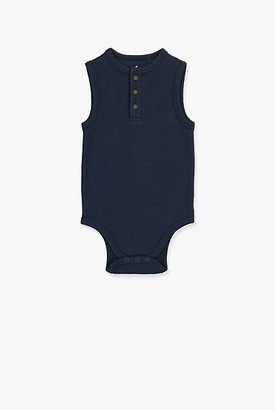 Country Road Unisex Henley Bodysuit