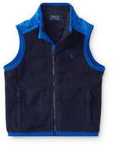 Ralph Lauren 2-7 Fleece Hybrid Vest