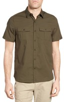 Michael Bastian Men's Ripstop Safari Shirt