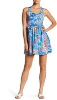 Maaji Reversible Azure Macrame Dress