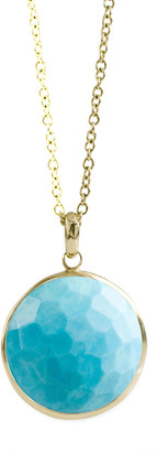 Ippolita 18k Gold Rock Candy Lollipop Pendant Necklace