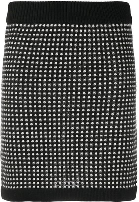 Boutique Moschino Knitted Mini Skirt