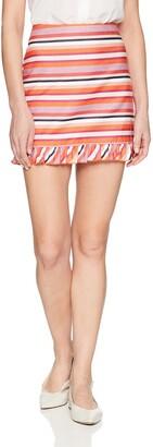 Trina Turk Women's Rico 2 Ruffle Hem Skirt