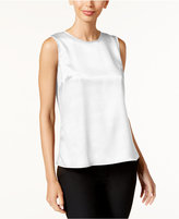 Kasper Petite Sleeveless Suiting Shell