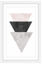 Triangle Stack (Framed Giclee)