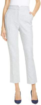 Tailored by Rebecca Taylor Slub Suit Pants