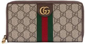 Gucci Zip around wallet with Three Little Pigs