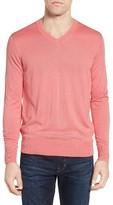 Men's Jeremy Argyle V-Neck Sweater