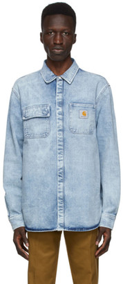 Carhartt Work In Progress Blue Denim Salinac Shirt