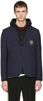 Gucci Navy Formal Cambridge Blazer