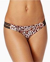Honey Honey Wild Cheetah Printed Hipster Bikini Bottoms Women's Swimsuit