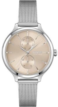 BOSS Women's Purity Stainless Steel Mesh Bracelet Watch 36mm