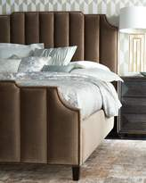 Bernhardt Bree Channel-Tufted King Bed
