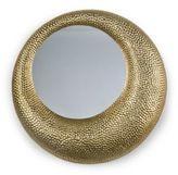 Regina-Andrew Design Regina Andrew Design Matte Gold Hammered Mirror