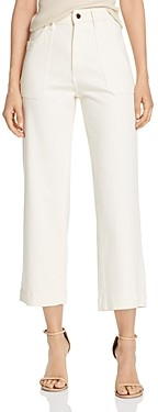Marianna DL1961 x Hewitt Hepburn High-Rise Cropped Wide-Leg Jeans in Sutter