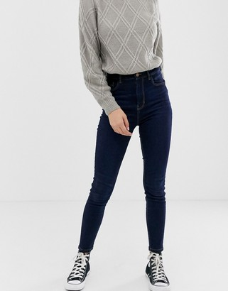 Pimkie high rise skinny jean in indigo