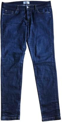 Bonpoint Blue Cotton Jeans for Women