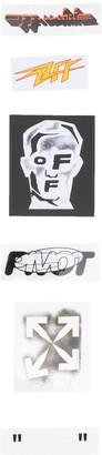 Off-White Masked Face sticker set