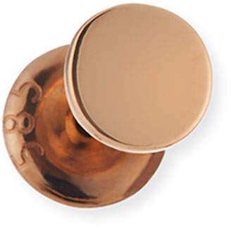 Kismet by Milka Single Disc Stud Earring in 14K Rose Gold