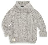 Ralph Lauren Little Girl's Cable-Knit Turtleneck Sweater