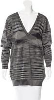 M Missoni Patterned Long Sleeve Sweater