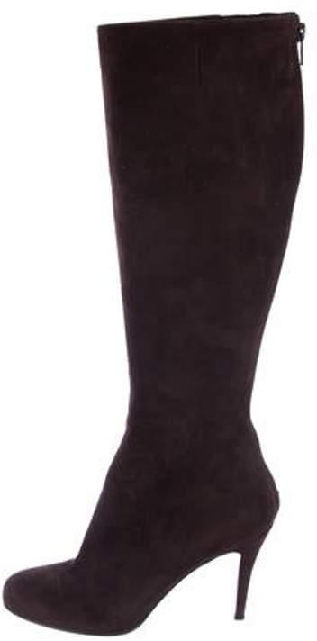 Christian Louboutin Suede Knee-High Boots Suede Knee-High Boots