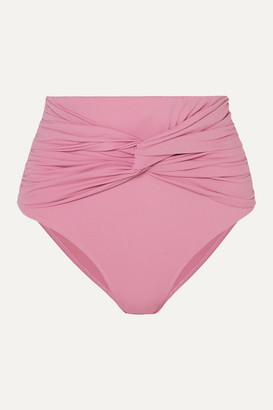 Bondi Born BONDI BORN - Penelope Knotted Bikini Briefs - Pink