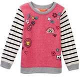 Joe Fresh Embroidered Popover (Toddler & Little Girls)