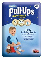 Huggies Pull-Ups Night Time Boys Size Small Convenience Pack - 14 Pants - Pack of 2