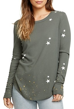 Chaser Star Waffle-Knit Tee