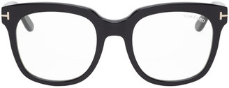 Tom Ford Black Oversized Square Glasses