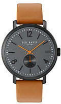 Ted Baker Oliver Analog Leather-Strap Watch