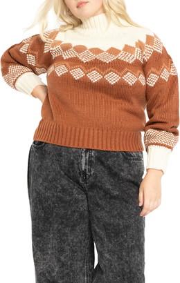 ELOQUII Turtleneck Sweater
