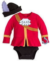 Disney Captain Hook Costume Bodysuit for Baby - Personalizable