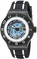 Swatch Men's SUUB101 Feel the Sea Analog Display Quartz Two Tone Watch