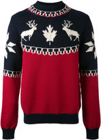 DSQUARED2 intarsia knit - men - Polyamide/Wool/Alpaca - S